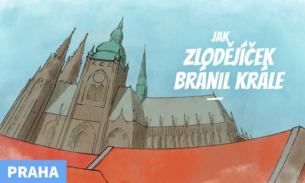 Jak zlodějíček bránil krále - šifrovačka Pražský hrad