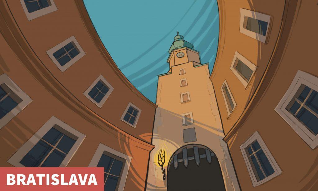 V zajatí štyroch brán - šifrovačka Bratislava